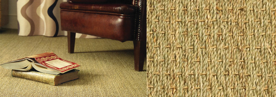 Intercarpets, natural fibres, floor covering, jute, sisal, seagrass
